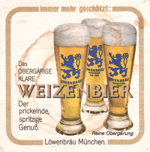 German Beer Coasters—Bierdeckel